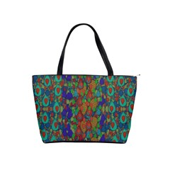 Sea Of Mermaids Shoulder Handbags by pepitasart