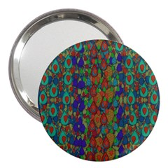 Sea Of Mermaids 3  Handbag Mirrors by pepitasart