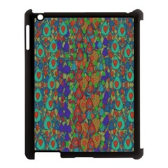Sea Of Mermaids Apple Ipad 3/4 Case (black) by pepitasart