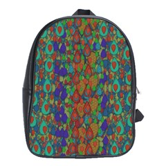 Sea Of Mermaids School Bags (xl)  by pepitasart