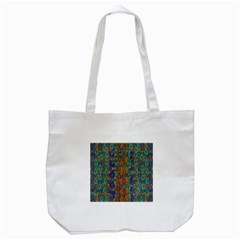 Sea Of Mermaids Tote Bag (white) by pepitasart