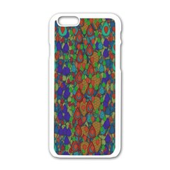 Sea Of Mermaids Apple Iphone 6/6s White Enamel Case by pepitasart