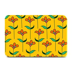 Small Flowers Pattern Floral Seamless Vector Plate Mats by Simbadda