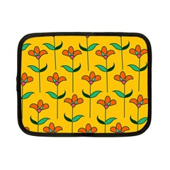 Small Flowers Pattern Floral Seamless Vector Netbook Case (small)  by Simbadda