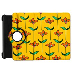 Small Flowers Pattern Floral Seamless Vector Kindle Fire Hd 7  by Simbadda