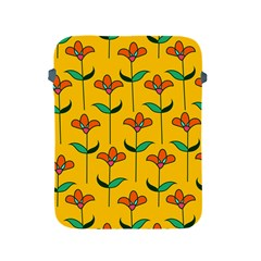 Small Flowers Pattern Floral Seamless Vector Apple Ipad 2/3/4 Protective Soft Cases by Simbadda
