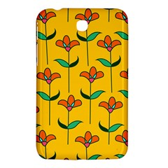 Small Flowers Pattern Floral Seamless Vector Samsung Galaxy Tab 3 (7 ) P3200 Hardshell Case  by Simbadda