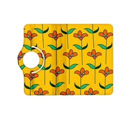 Small Flowers Pattern Floral Seamless Vector Kindle Fire Hd (2013) Flip 360 Case by Simbadda