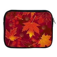 Autumn Leaves Fall Maple Apple Ipad 2/3/4 Zipper Cases by Simbadda