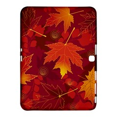 Autumn Leaves Fall Maple Samsung Galaxy Tab 4 (10 1 ) Hardshell Case