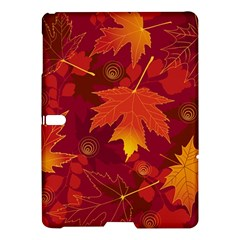 Autumn Leaves Fall Maple Samsung Galaxy Tab S (10 5 ) Hardshell Case  by Simbadda