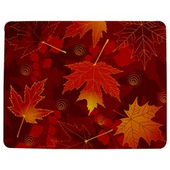 Autumn Leaves Fall Maple Jigsaw Puzzle Photo Stand (rectangular) by Simbadda