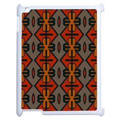 Seamless Pattern Digitally Created Tilable Abstract Apple Ipad 2 Case (white) by Simbadda