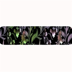 Floral Pattern Background Large Bar Mats by Simbadda