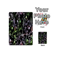 Floral Pattern Background Playing Cards 54 (mini)  by Simbadda