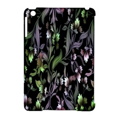 Floral Pattern Background Apple Ipad Mini Hardshell Case (compatible With Smart Cover) by Simbadda