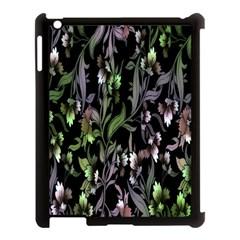 Floral Pattern Background Apple Ipad 3/4 Case (black) by Simbadda