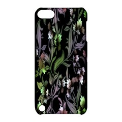 Floral Pattern Background Apple Ipod Touch 5 Hardshell Case With Stand by Simbadda