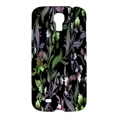 Floral Pattern Background Samsung Galaxy S4 I9500/i9505 Hardshell Case by Simbadda