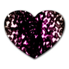 Background Structure Magenta Brown Heart Mousepads by Simbadda
