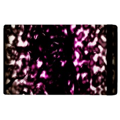 Background Structure Magenta Brown Apple Ipad 2 Flip Case by Simbadda