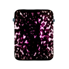 Background Structure Magenta Brown Apple Ipad 2/3/4 Protective Soft Cases by Simbadda
