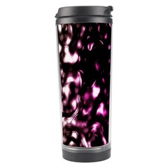 Background Structure Magenta Brown Travel Tumbler by Simbadda