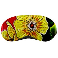 Beautiful Fractal Flower In 3d Glass Frame Sleeping Masks by Simbadda