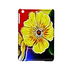 Beautiful Fractal Flower In 3d Glass Frame Ipad Mini 2 Hardshell Cases by Simbadda