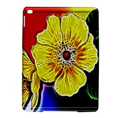 Beautiful Fractal Flower In 3d Glass Frame Ipad Air 2 Hardshell Cases by Simbadda