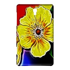 Beautiful Fractal Flower In 3d Glass Frame Samsung Galaxy Tab S (8 4 ) Hardshell Case