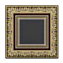 Fractal Classic Baroque Frame Tile Coasters by Simbadda