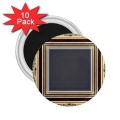 Fractal Classic Baroque Frame 2 25  Magnets (10 Pack)  by Simbadda