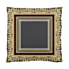 Fractal Classic Baroque Frame Standard Cushion Case (two Sides) by Simbadda