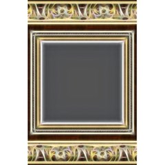 Fractal Classic Baroque Frame 5 5  X 8 5  Notebooks by Simbadda