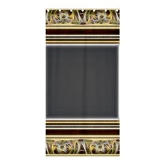 Fractal Classic Baroque Frame Shower Curtain 36  X 72  (stall)  by Simbadda