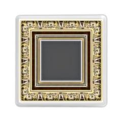 Fractal Classic Baroque Frame Memory Card Reader (square)  by Simbadda