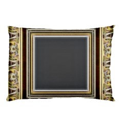 Fractal Classic Baroque Frame Pillow Case (two Sides) by Simbadda