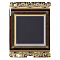 Fractal Classic Baroque Frame Apple Ipad 3/4 Hardshell Case (compatible With Smart Cover) by Simbadda