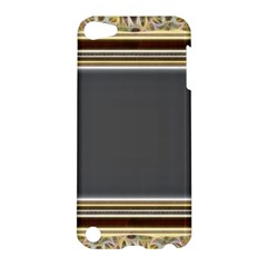 Fractal Classic Baroque Frame Apple Ipod Touch 5 Hardshell Case by Simbadda