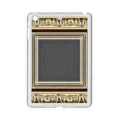 Fractal Classic Baroque Frame Ipad Mini 2 Enamel Coated Cases by Simbadda