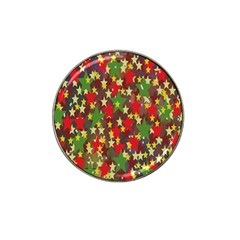 Star Abstract Multicoloured Stars Background Pattern Hat Clip Ball Marker