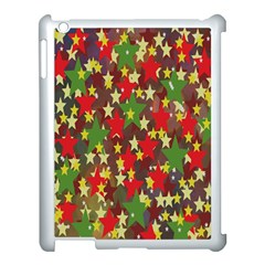 Star Abstract Multicoloured Stars Background Pattern Apple Ipad 3/4 Case (white) by Simbadda