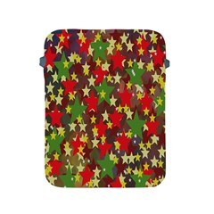 Star Abstract Multicoloured Stars Background Pattern Apple Ipad 2/3/4 Protective Soft Cases by Simbadda