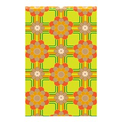 Floral Pattern Wallpaper Background Beautiful Colorful Shower Curtain 48  X 72  (small)