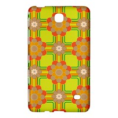 Floral Pattern Wallpaper Background Beautiful Colorful Samsung Galaxy Tab 4 (8 ) Hardshell Case  by Simbadda