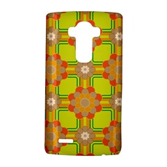 Floral Pattern Wallpaper Background Beautiful Colorful Lg G4 Hardshell Case by Simbadda