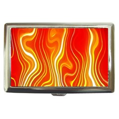 Fire Flames Abstract Background Cigarette Money Cases by Simbadda