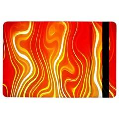 Fire Flames Abstract Background Ipad Air 2 Flip by Simbadda