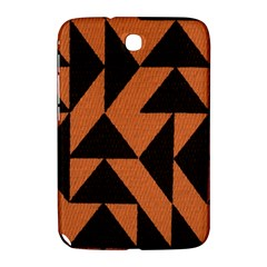 Brown Triangles Background Samsung Galaxy Note 8 0 N5100 Hardshell Case  by Simbadda